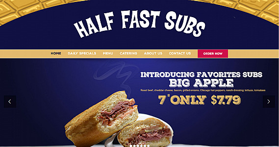 Half Fast Subs on the Hill
