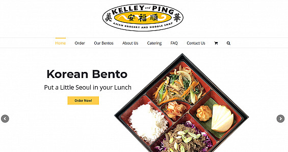 Kelley and Ping Bento Box Delivery