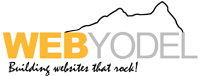 Web Yodel Boulder, CO – website design & development Logo